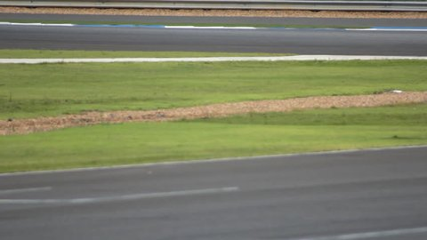 motorcycle on track