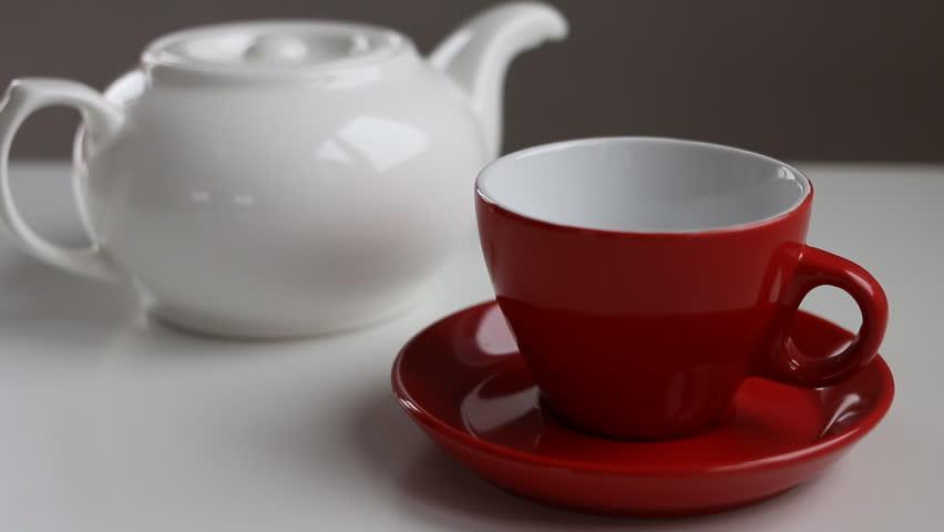 Making tea at breakfast | Shutterstock HD Video #14267834