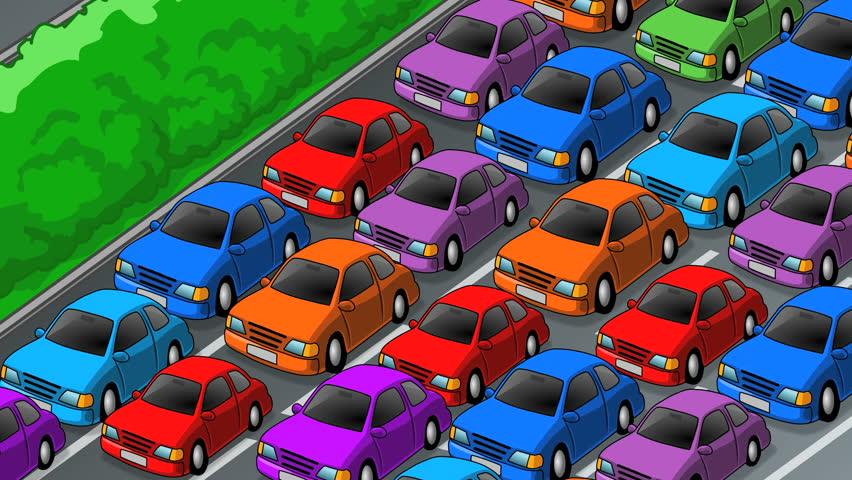 Cars Clip Art >> Cartoon Cars Stock Footage Video | Shutterstock