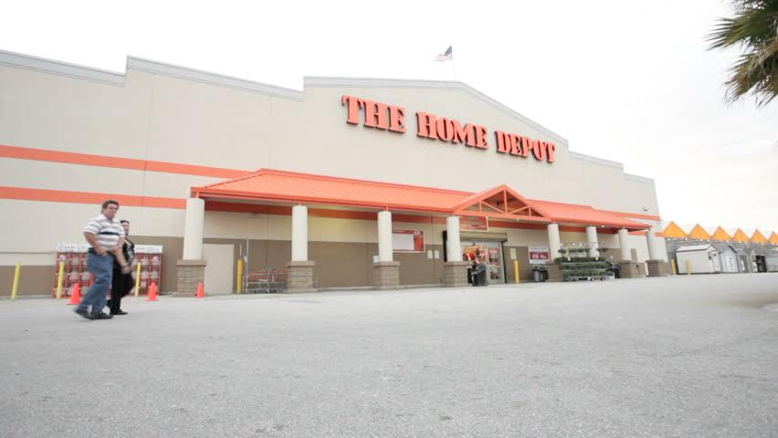 MIAMI, FLORIDA - OCTOBER 3: Static Shot Of Video Home Depot ...
