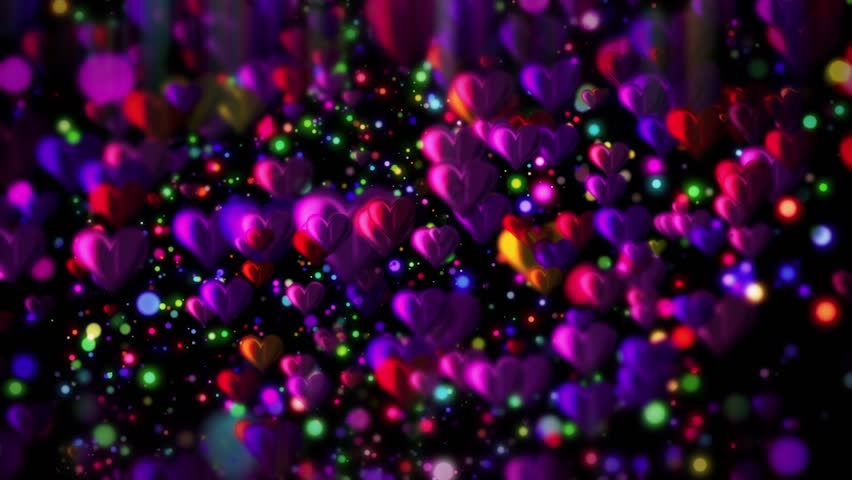 Hearts Background for different projects!!! | Shutterstock HD Video #14416798