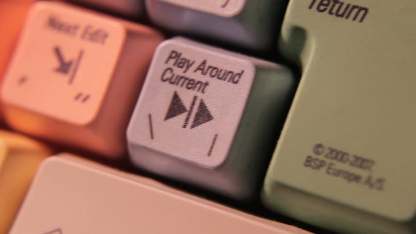 video editing keyboard symbols macro