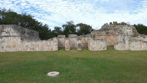 uxmal ruins in yucatan mexico