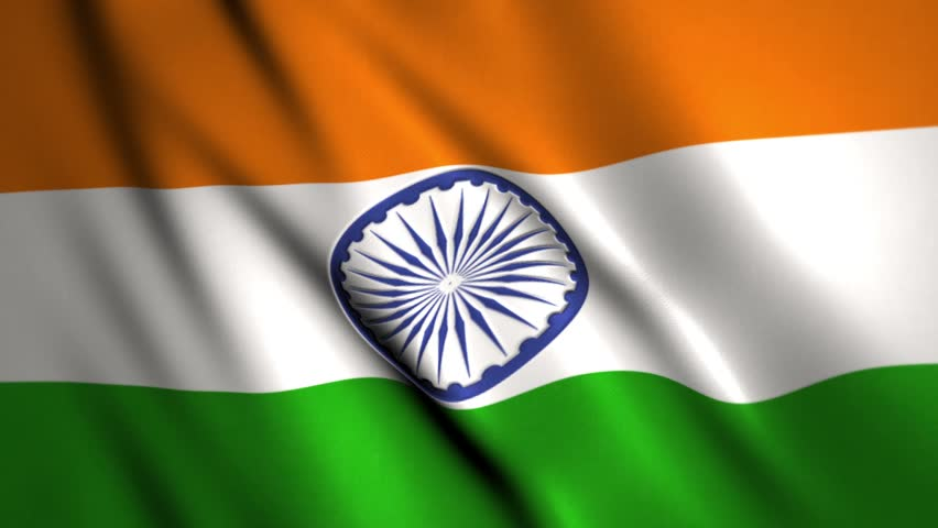 Indian Flag With Different Views: Flag Of India Beautiful 3d Animation Of India Flag In Loop