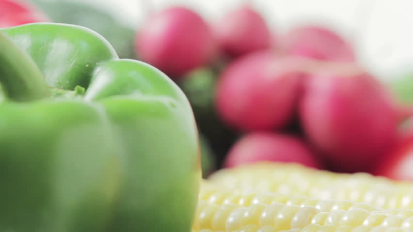 Farm fresh produce close-up. | Shutterstock HD Video #1452097