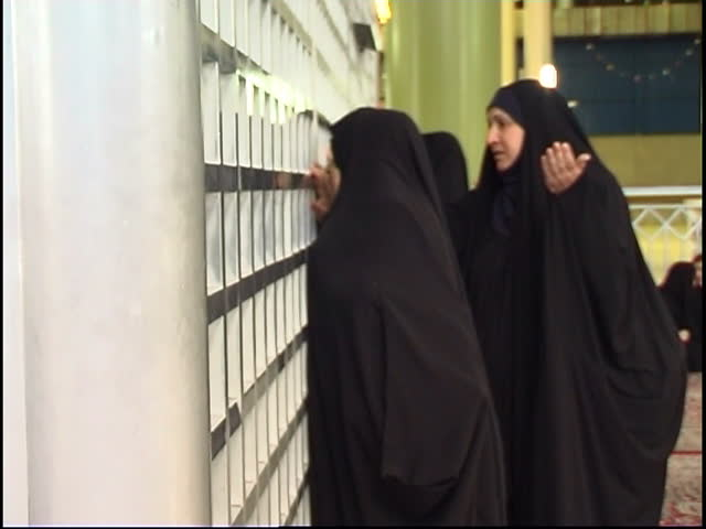 Non Muslim Perspective On The Revolution Of Imam Hussain: Ruhollah Khomeini Mausoleum, Tehran, Iran Stock Footage
