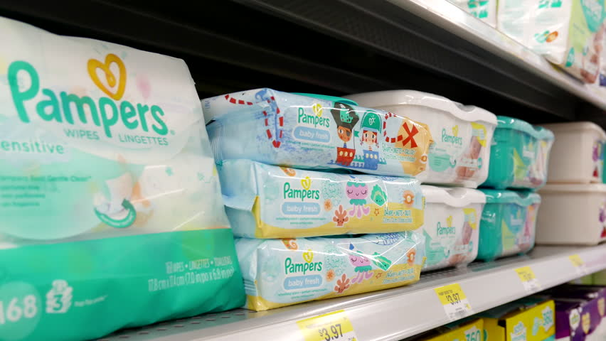 Baby Wipes Stock Footage Video Shutterstock
