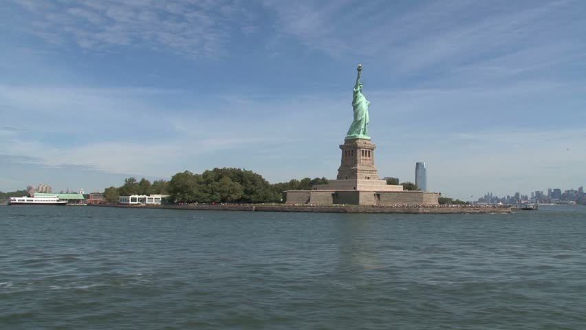 New York - Circa October 2010: Statue of Liberty.