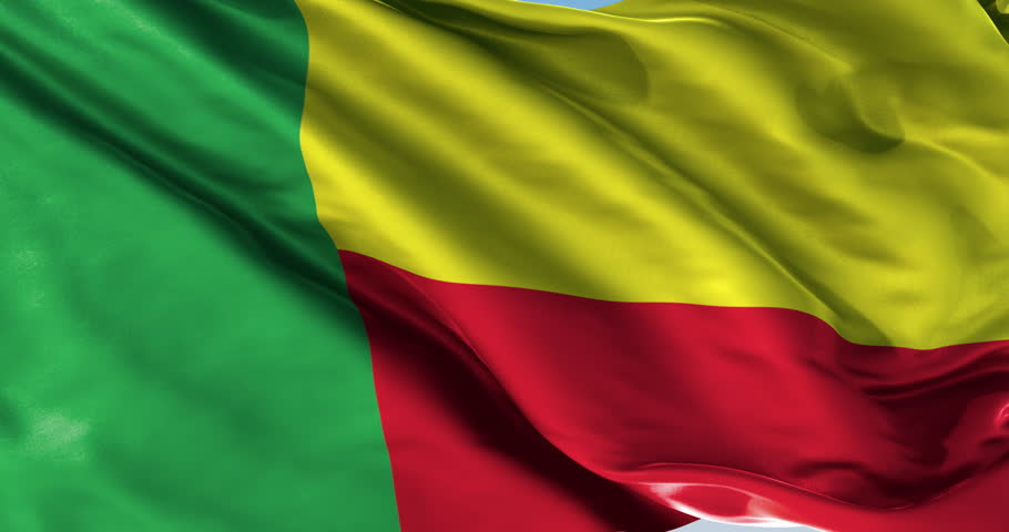 Ultra realistic looping flag: Dahomey   Shutterstock HD Video #14957758