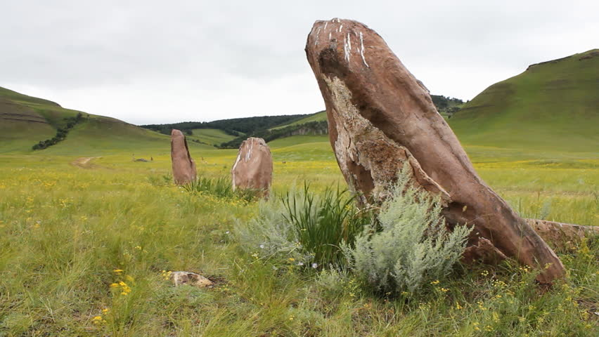 The great stone circle. | Shutterstock HD Video #1499198