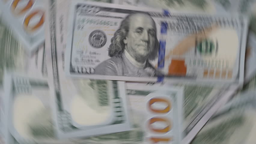 US Dollars Back Side Money Background Motion   Shutterstock HD Video #14993908