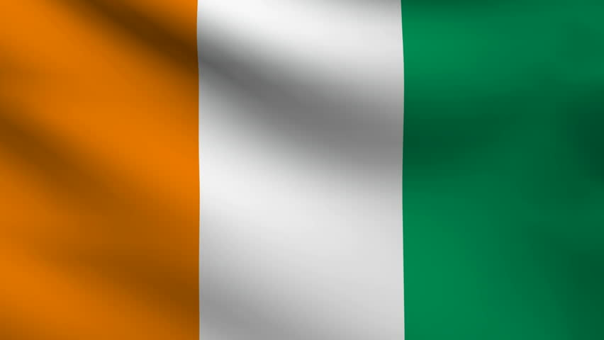 ivory coast flag stock footage video 15046888 shutterstock