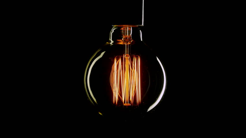 Free Vintage Light Bulb Stock Video Footage - (4,043 Free Downloads)