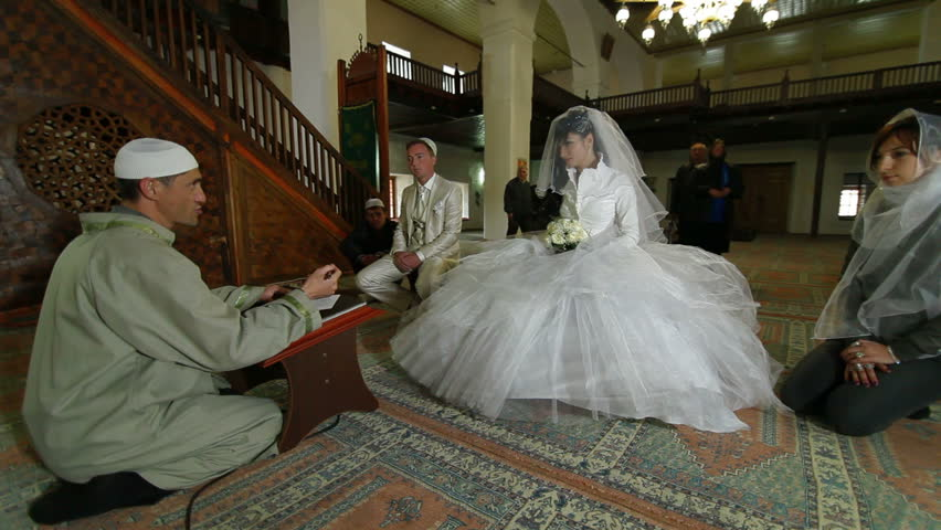 Muslim Marriage in Mosque - Stock Footage Video (100% Royalty-free) 1506308  | Shutterstock