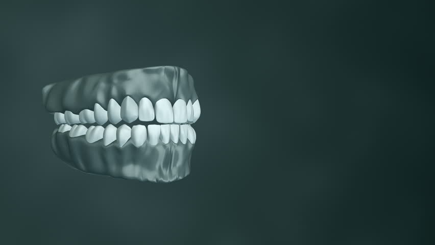 Medical Background With Animation Of Rotation And Opening ... Dental Implant Background