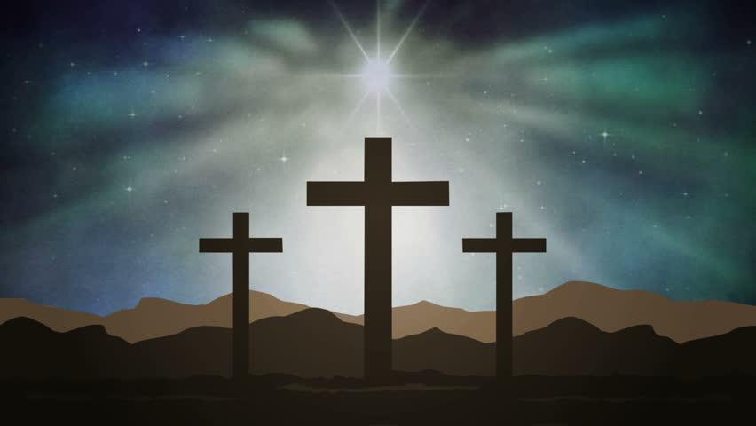 vídeo stock de holy cross background 16 100 livre de direitos