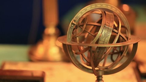 Armillary Sphere-astronomical instrument, which is used to determine the coordinates of celestial bodies.