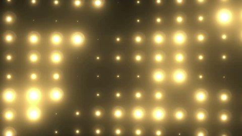 Bright floodlight background. Yellow wall light 1920x1080 HD