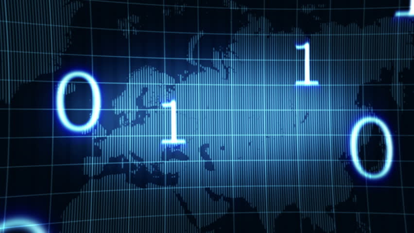 Abstract animated background with world map and numbers,animation HD 1080 | Shutterstock HD Video #1539808