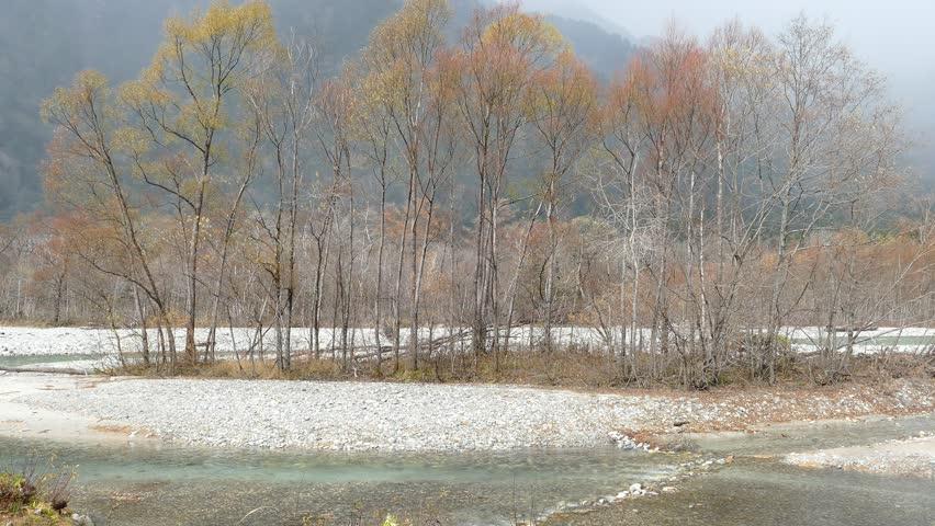 The fall season of kamikochi national park, Japan    Shutterstock HD Video #15538558