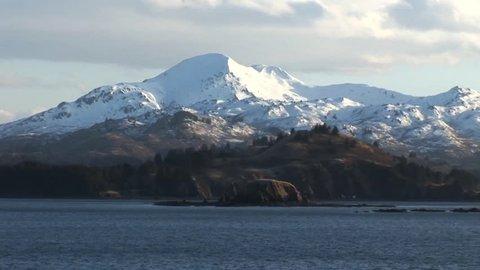 Kodiak Mountains in Alaska