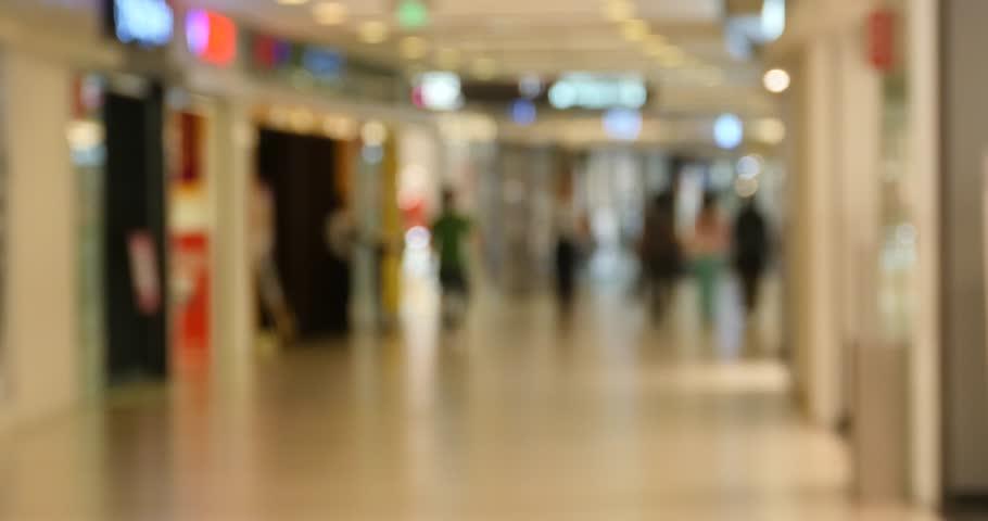 4k customer in the shopping malls scene,Blurry crowd silhouette,modern city environment. gh2_11082_4k #15564184
