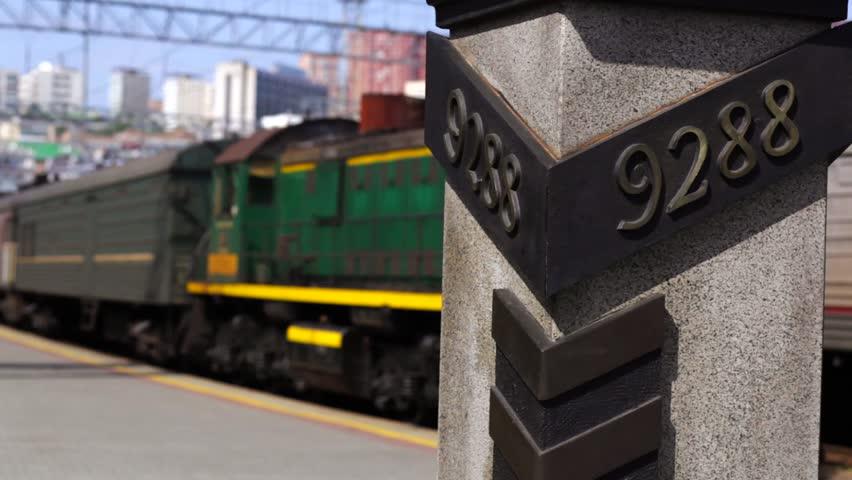 Trans-Siberian railway 9288 km