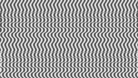 Bended shape with floating pattern in seamless looping animation (Full HD 1920x1080, 30fps 10s).
