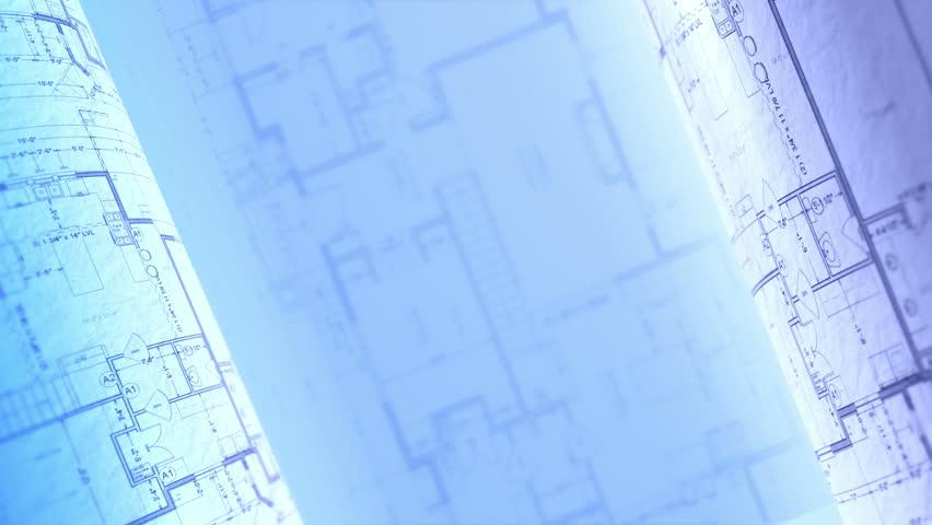 Architecture Blueprints architecture blueprints stock footage video 755248 | shutterstock