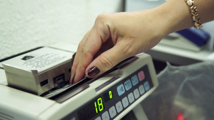 Money Counting Machine Stock Footage Video | Shutterstock