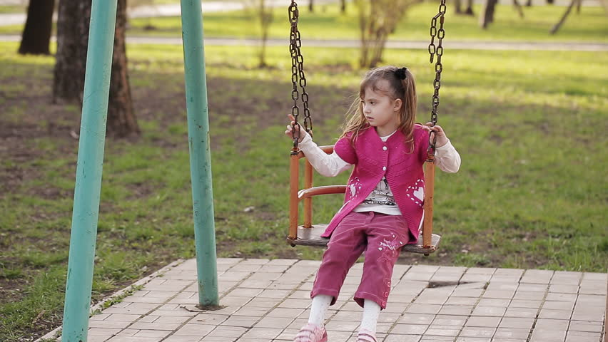 Sad Mature Woman On A Swing Stock Footage Video 15366682 -6302