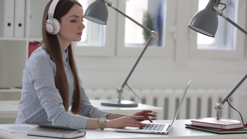 Woman working with documents in the office   Shutterstock HD Video #15852478