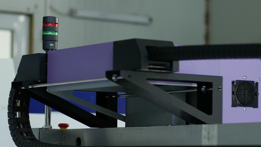 Wide Format Digital Printer, Plotter Stock Footage Video (100%  Royalty-free) 15880048 | Shutterstock