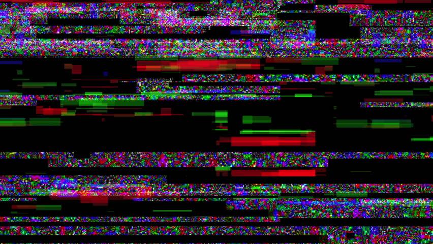 Noise Glitch Video Damage  #15932098