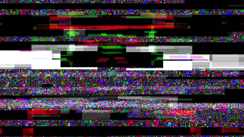 Noise Glitch Video Damage
