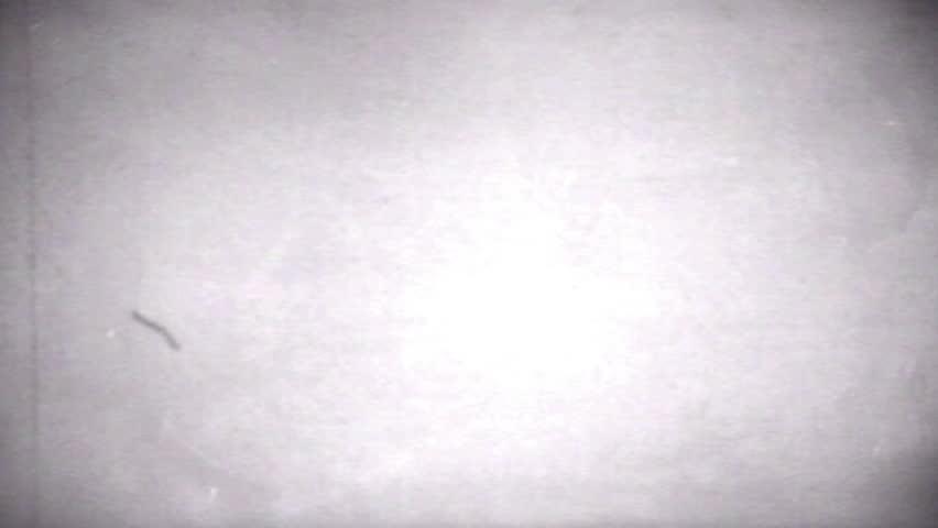 Old Distorted Damaged Film Blinking Frame Vintage Footage 16mm real