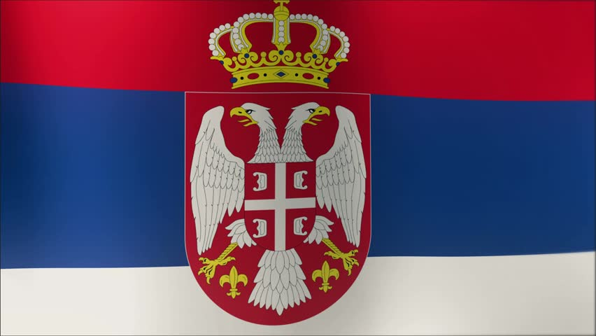 Serbian Flag Stock Footage Video 11247293 | Shutterstock
