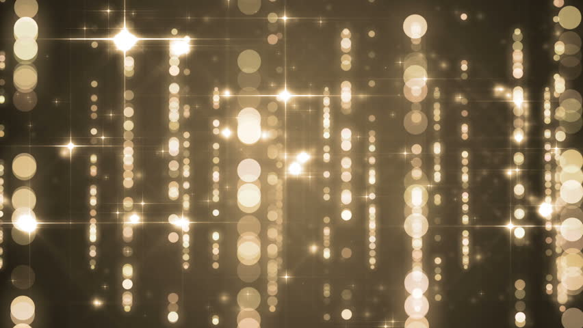 Lights gold bokeh background. Elegant gold abstract. Disco background with circles and stars. Christmas Animated background. loop able abstract background circles. | Shutterstock HD Video #16100818
