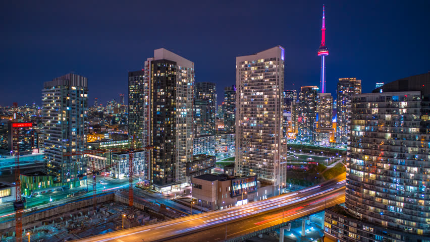Image result for toronto night time