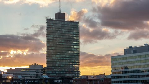 Kista Science Tower, Stockholm. Home to Many Scandinavian IT companies