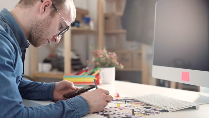 Closeup of a businessman calculating   Shutterstock HD Video #16296598