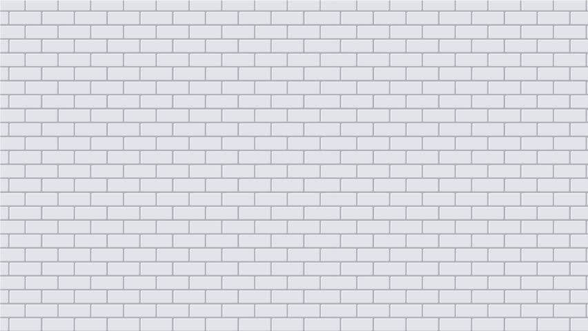 White Brick Wall Part - 49: Footage Motion Brickwall Background Texture. 4K Video Animation - 4K Stock  Video Clip