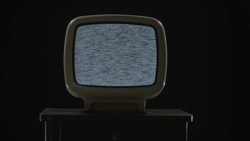 Poor signal and noise on the old TV screen | Shutterstock HD Video #16395088