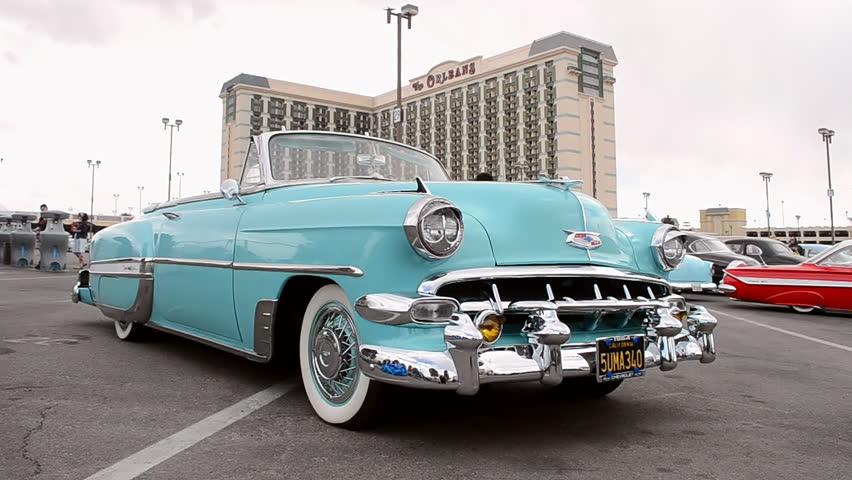 Las Vegas Nv Apr Stock Footage Video Royaltyfree - Vegas rockabilly car show