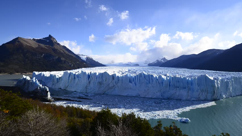 Perito Moreno Glacier in Los Glaciares National Park ,southwest Santa Cruz province,Patagonia-Argentina