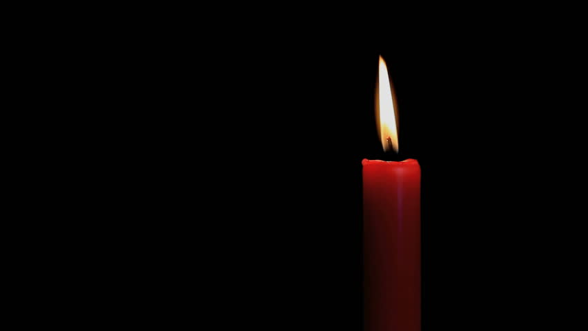 red candle black background - photo #3