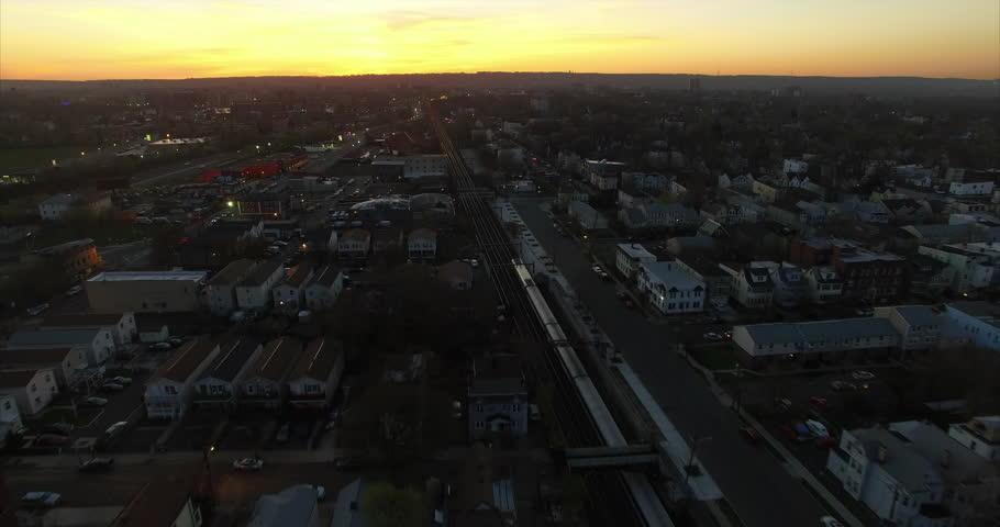 Newark New Jersey East Orange Stock Footage Video (100% Royalty-free)  16707688 | Shutterstock