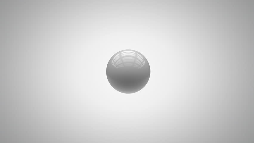 Abstract sphere animation, with matte | Shutterstock HD Video #1691380