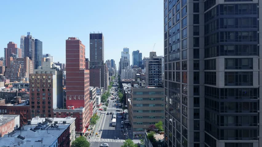 Economy development background. modern real estate apartments. city skyscraper buildings | Shutterstock HD Video #16925638
