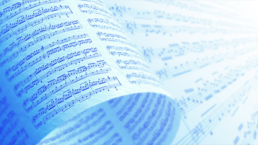 A Collection of High Quality Music Notes Texture, Background LOOP. | Shutterstock HD Video #16939657
